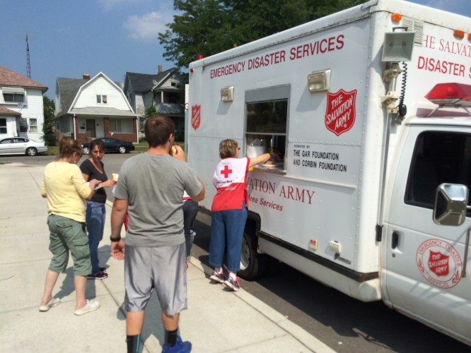 Salvation Army Providing Relief During Metro Toledo�s Water Crisis