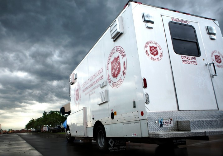 McAlester Oklahoma Canteen Provides Community Care After Tornadoes