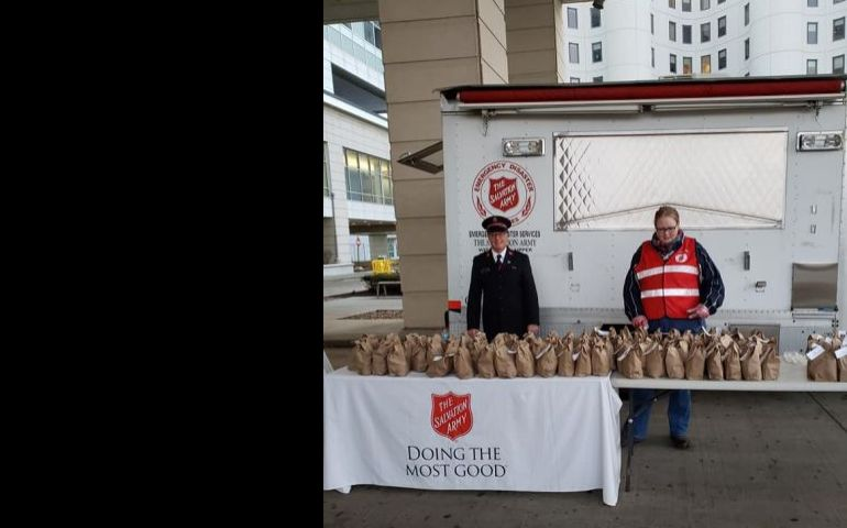 The Salvation Army To Provide Meals for Hospital Staff In Milwaukee