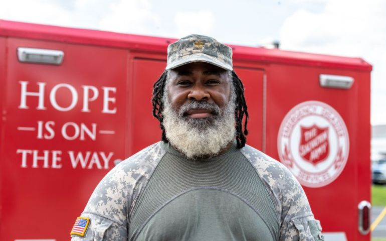 Salvation Army Remembers 9/11 Amid Hurricane Laura Relief