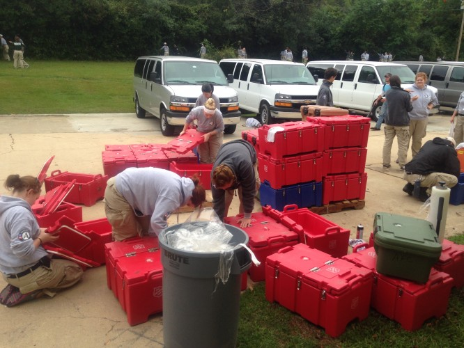 The Salvation Army EDS and FEMA Corps team up for Preparedness Work