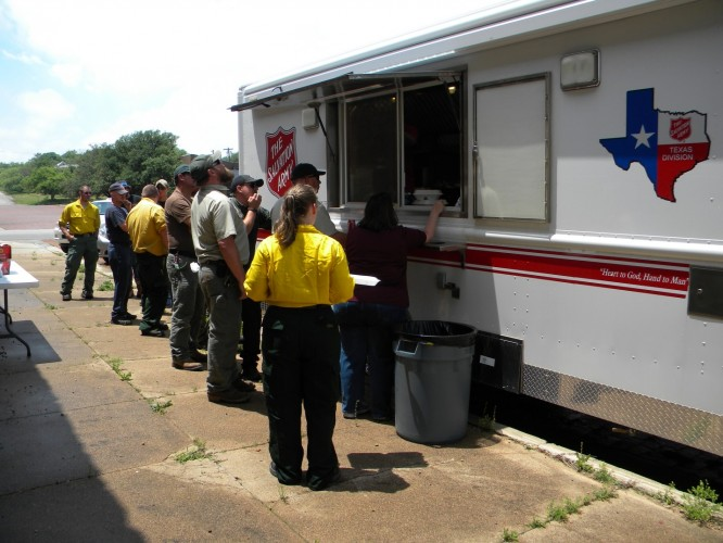 Salvation Army Support Continues in Van, Texas Following Tornado