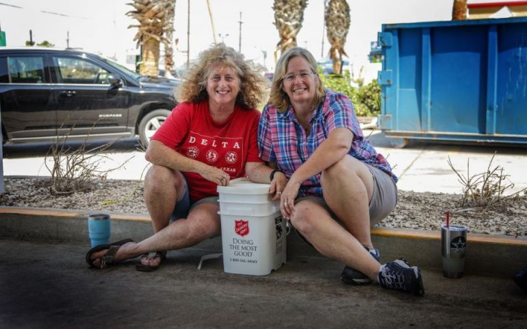 Port Aransas Residents Grateful for Salvation Army Support as Cleanup Continues