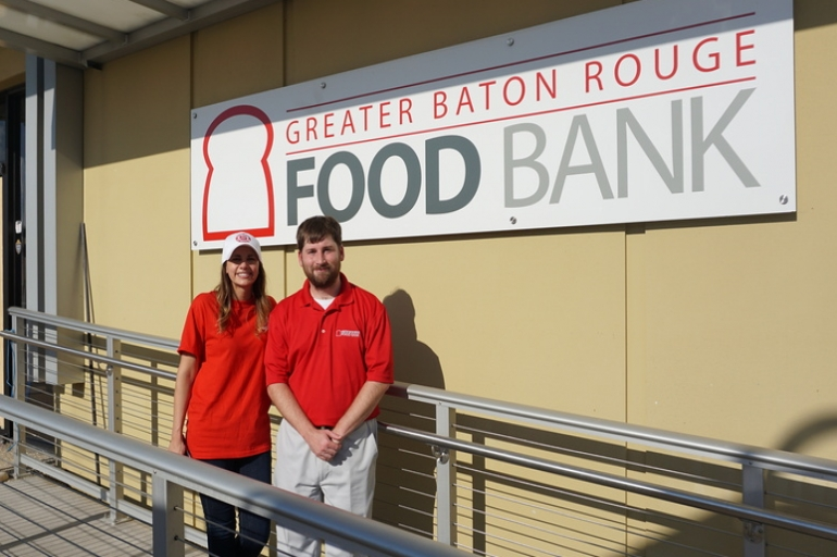 Salvation Army & Greater Baton Rouge Food Bank Rebuild Together in Baton Rouge