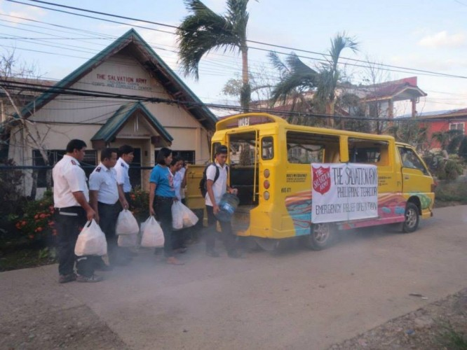 Salvation Army in the Philippines Remains at the Heart of Typhoon Response