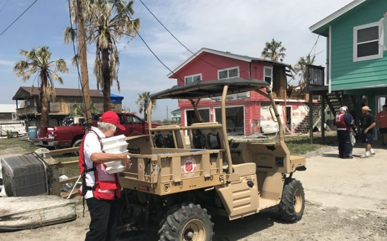 Arkansas-Oklahoma Sends Personnel and Equipment to Assist Texas