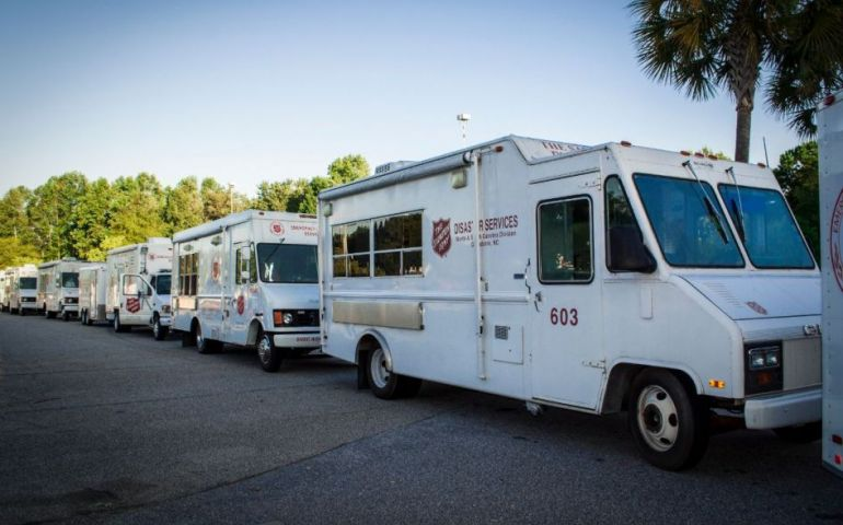 Salvation Army of the Carolinas Sends Disaster Relief Teams to Florida