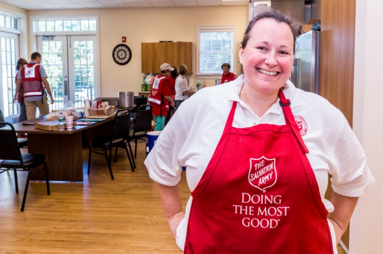 The people of Beaufort empower The Salvation Army to serve after Matthew