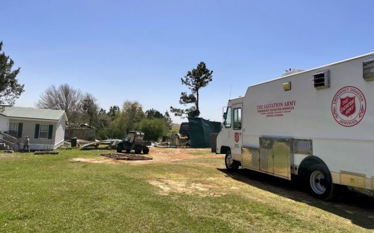 Salvation Army ALM Division Serving Pockets of Need After Tornadoes