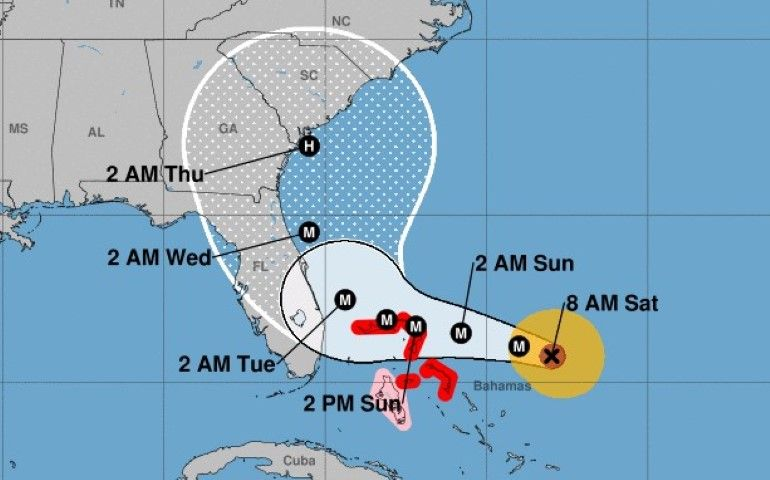 Salvation Army Carolinas Closely Monitoring Dorian Track