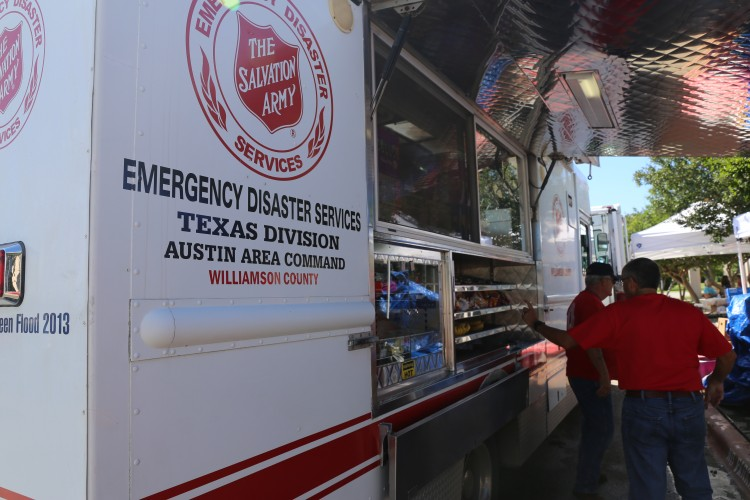Salvation Army in Texas Prepared for Effects of Hurricane Patricia