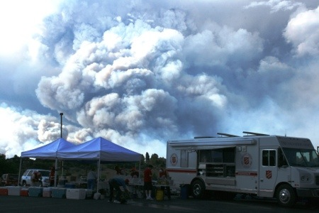 The Salvation Army Brings in Additional Resources for Waldo Canyon Fire