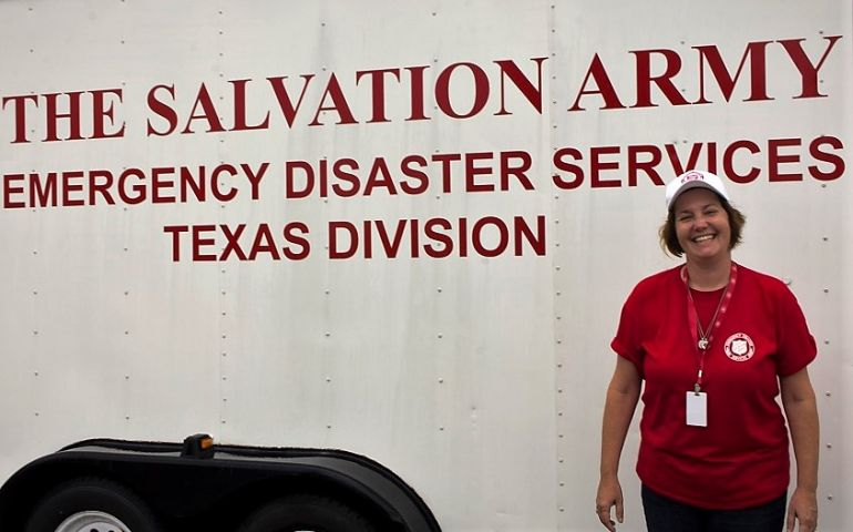 Salvation Army Volunteer Gives Life-Saving Medical Assistance in Victoria, TX