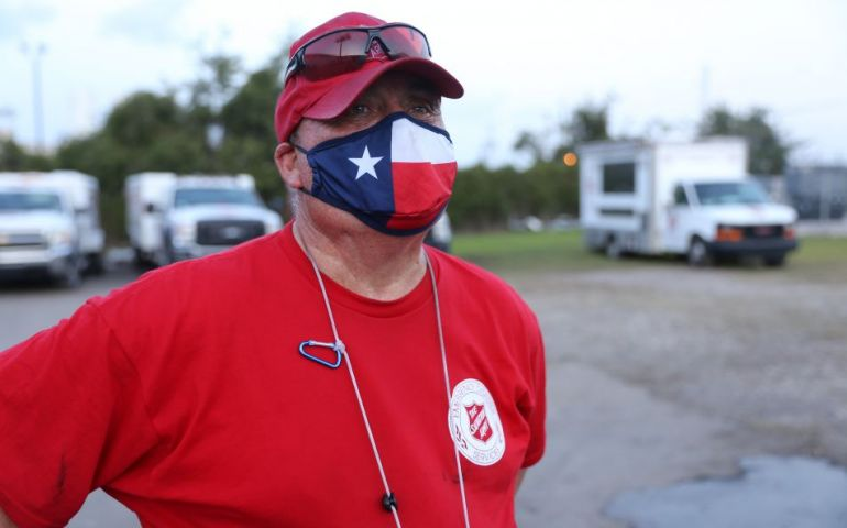 Food Box Distribution to Complete Salvation Army Response Efforts in Southeast Texas