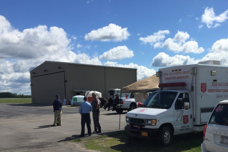 Ogdensburg EDS Team Participates in Airport FAA Disaster Exercise