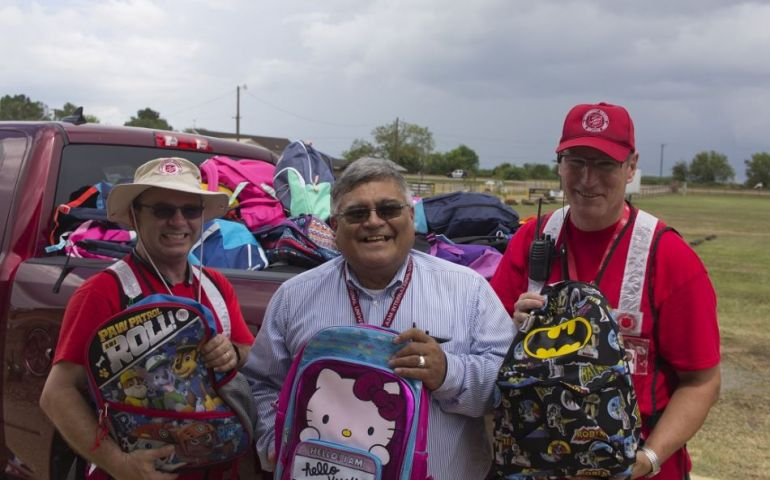 "A ""Miracle"" Means New Backpacks For Students in Victoria, Texas"