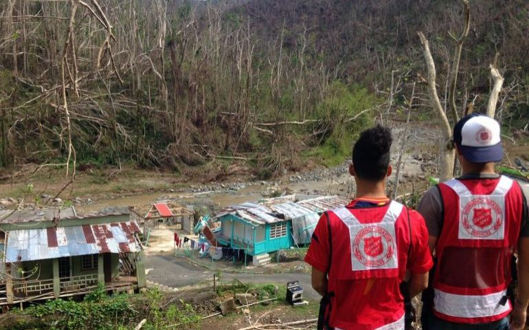 the salvation army meeting most urgent needs in puerto