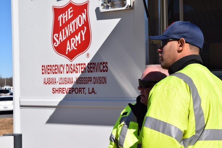 The Salvation Army continues relief efforts in MS and LA as the area prepares for more severe weather
