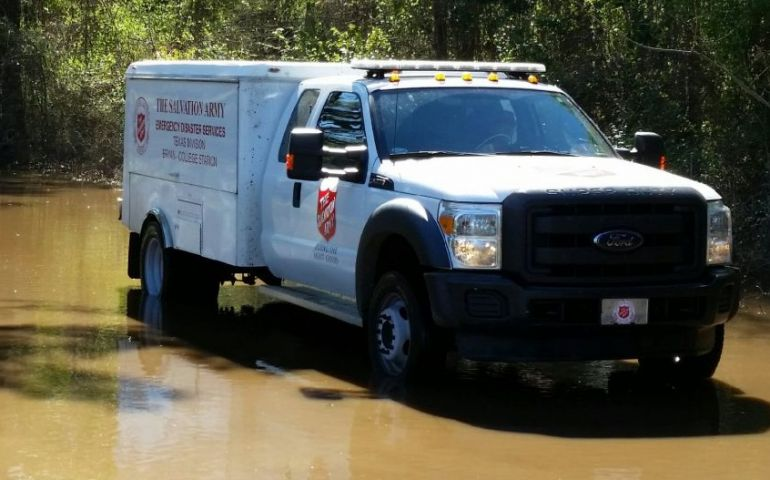 The Salvation Army in Texas Ready and Prepared to Respond to Tropical Storm Hanna