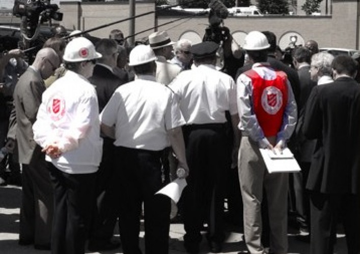 The Salvation Army Responds to the Tragic Building Collapse in Philadelphia