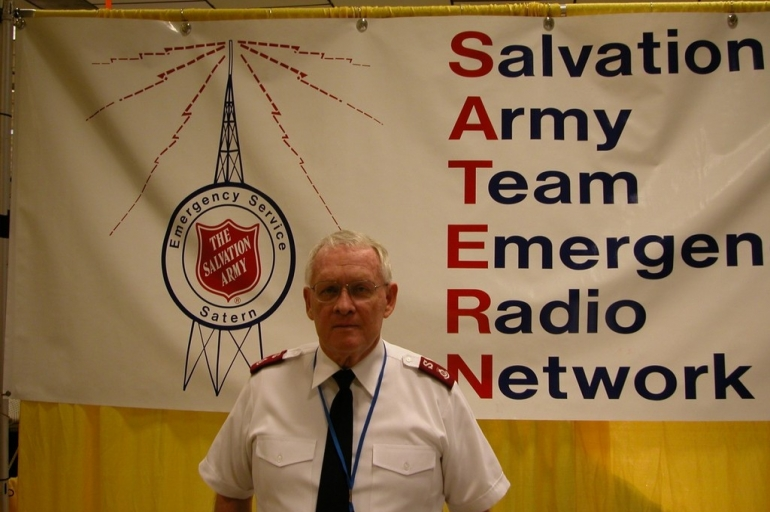 SATERN Founder Major Patrick McPherson Inducted Into Amateur Radio Hall of Fame