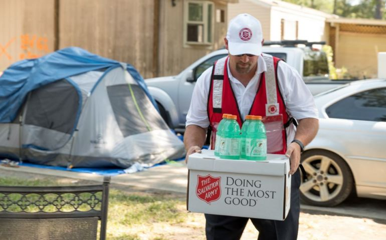 Salvation Army Transitions from Response to Recovery for Harvey & Irma