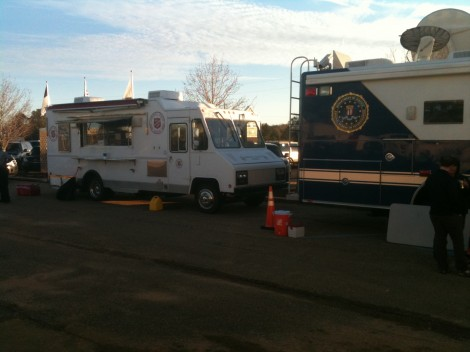 The Salvation Army Provides Food and Care As Hostage Standoff Continues