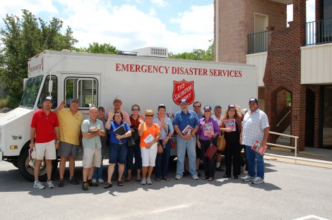 Williamson County, Texas, Volunteers Take the Wheel for The Salvation Army