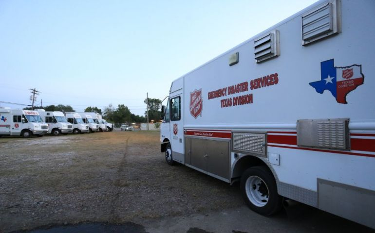 Salvation Army Texas Disaster Response Teams Deploying as Hurricane Delta Approaches
