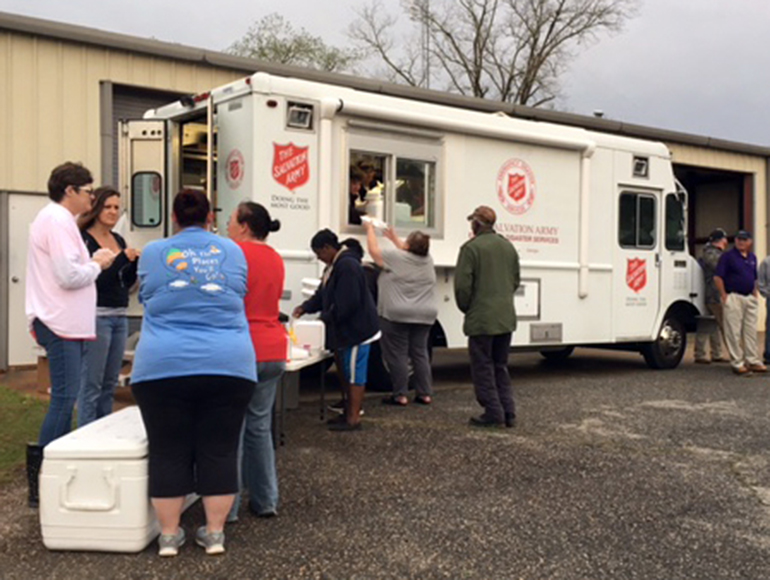 The Salvation Army of Georgia Deploys Disaster Teams After State Hit by Storms