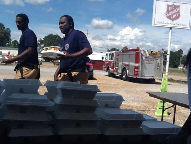 "Greenwood, MS Says ""Thanks"" to Local First Responders"