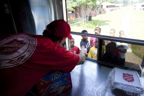 The Salvation Army Disaster Teams Converge to Combat Irene