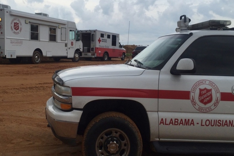 Jackson Salvation Army Assisting Rescuers After Tragic Gravel Pit Collapse