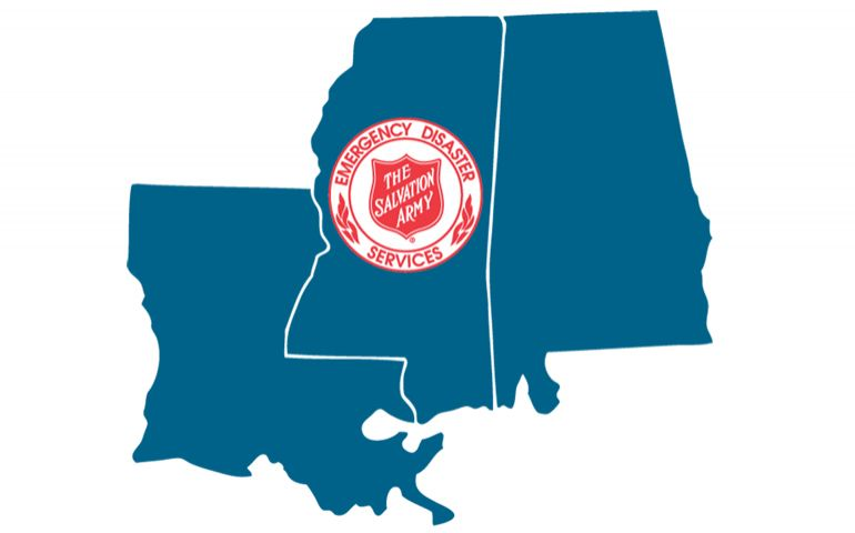 Salvation Army Monitoring Potential Hurricane in Gulf of Mexico