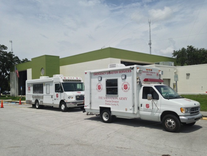 Florida Salvation Army Deploys Reinforcements For Pasco County Flooding