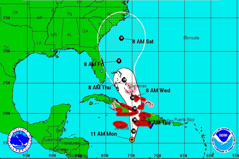 SATERN Activated For Hurricane Matthew