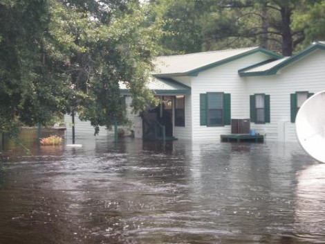 The Salvation Army of St. Marys, GA Assisting After Tropical Storm Debby