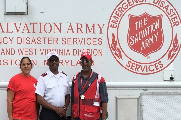 West Virginia Flood - Volunteers Are the Hearts & Hands of The Salvation Army