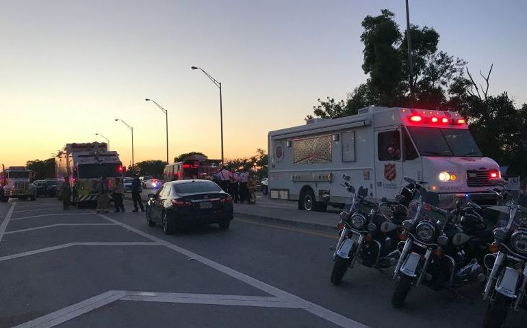 Salvation Army Responds to FIU Bridge Collapse