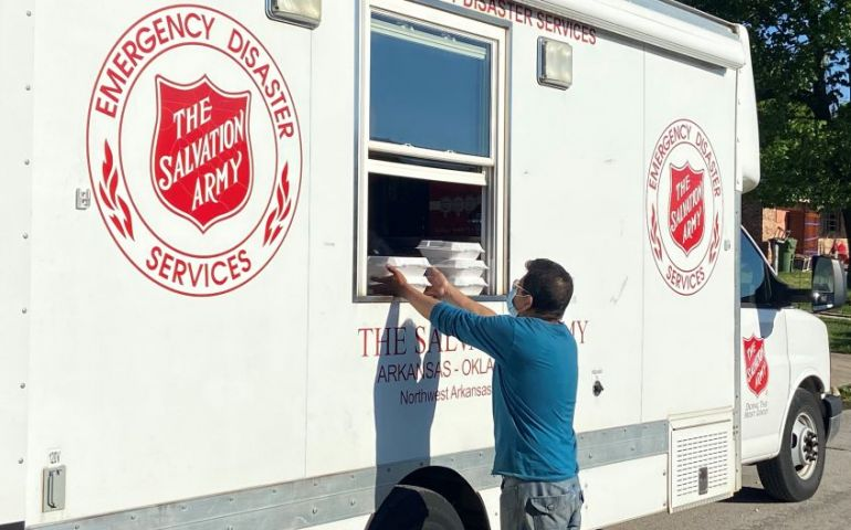 The Salvation Army Responds to Flooding in Northwest Arkansas