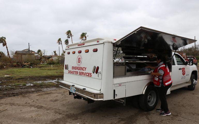 Salvation Army Expands Service as Teams Deploy to Accessible Areas of Texas