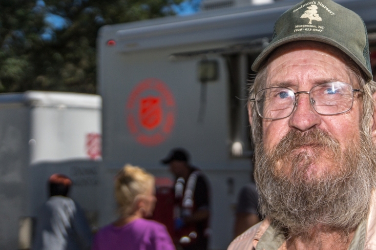 Why Does The Salvation Army Provide Food and Water in a Disaster?