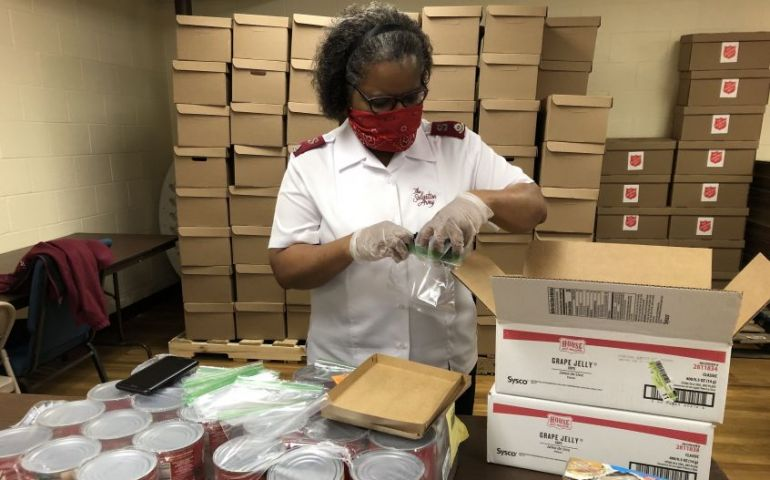 Salvation Army Responds to COVID-19 Related  Food Insecurity