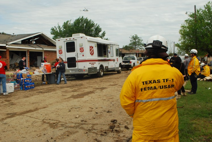 First Responders and Survivors in West, Texas, Receive Ongoing Support from The Salvation Army