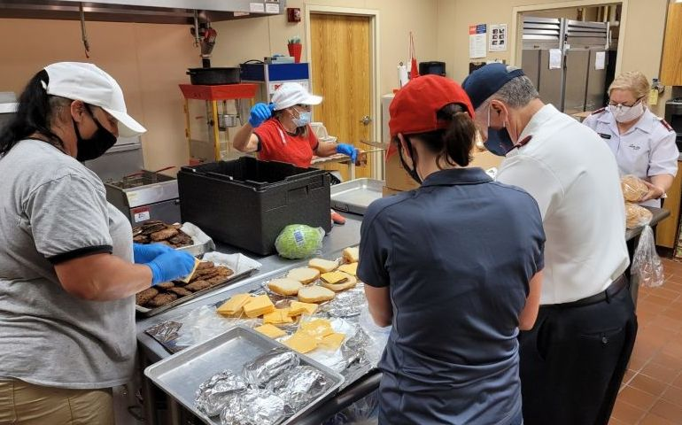 The Salvation Army's Southern Territory Providing Meals and Shelter For Hurricane Delta Relief