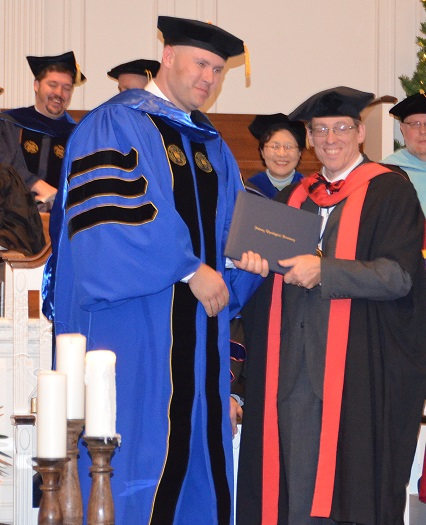 ALM Divisional Emergency Disaster Services Director Earns PhD