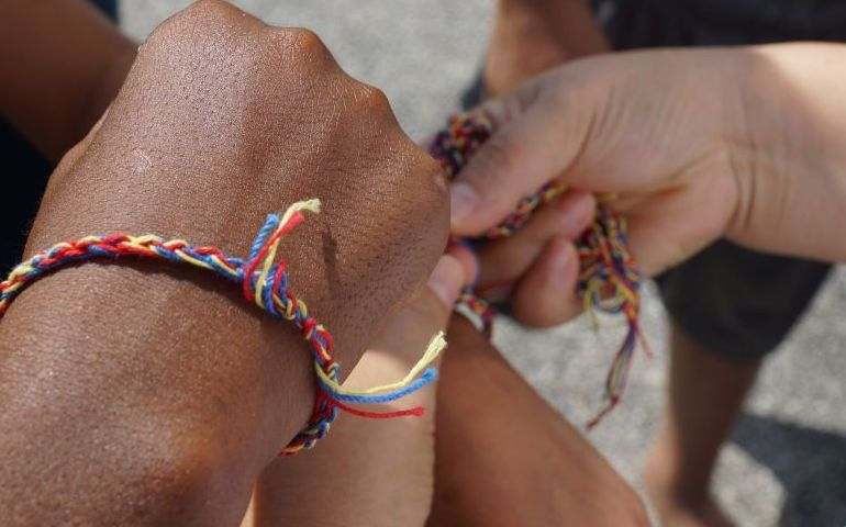 Officer's Prayer Bracelets Open Conversation Leading to Salvation