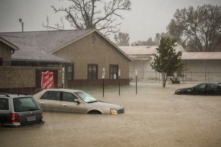 Salvation Army Carolinas Monitoring NC Flooding, Responding to Matthew