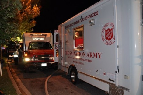 Salvation Army Begins Service Deployment Ahead of Hurricane Sandy Landfall