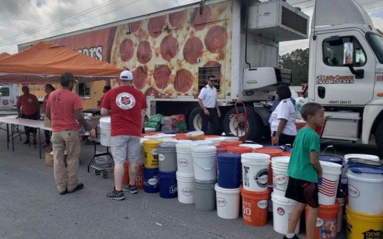 Little Caesar's Love Kitchen Partners with The Salvation Army in New Bern